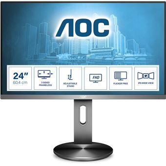 Monitor AOC I2490PXQU/BT | LED | FHD | 4 ms | 60 Hz | 23.8