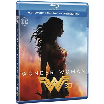 Wonder Woman 3 D (Blu-ray)