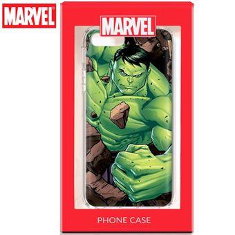 Capa COOL para iPhone 6 Plus / iPhone 7 Plus / 8 Plus Marvel Hulk