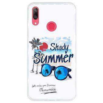 Capa Hapdey para Huawei Y7 2019 - Y7 Prime 2019 Design Shady Summer em Silicone Flexível e TPU