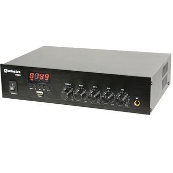 Amplificador de Linha Adastra Stereo USB/Fm e Bluetooth 50W