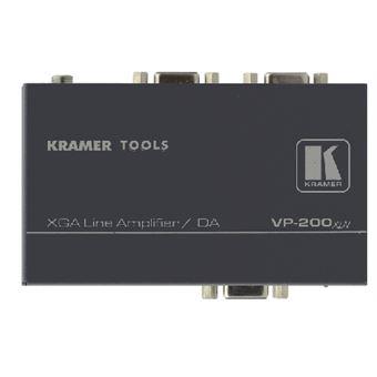 Kramer Electronics VP-200XLN amplificador de vídeo 400 MHz Preto