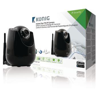 König SAS-IPCAM110B câmara de segurança Câmara de segurança IP interior Domo 640 x 480 pixels