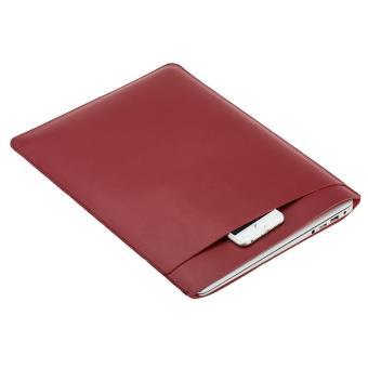 Mala SOYAN duplo camada lisa de 13' MacBook Air/Pro - Vermelho
