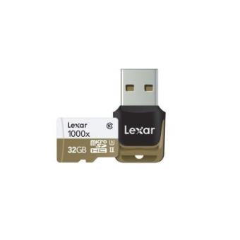 Cartão de Memória Lexar 32GB microSDHC UHS-II