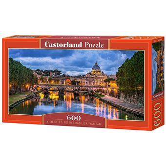 Puzzle Castorland View of St Peter's Basilica, Vatican 600 pcs 600peça(s)