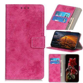 Capa Magunivers | PU + TPU retro elegante Rosa para Xiaomi Mi Note 10/Mi CC9 Pro