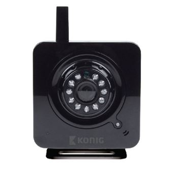 König SAS-IPCAM100B câmara de segurança Câmara de segurança IP interior Cubo Secretária 640 x 480 pixels