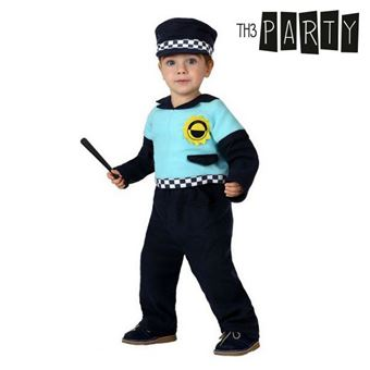 Disfarce para Bebés Th3 Party Polícia 0-6 meses