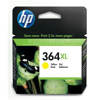 Tinteiro HP 364XL CB325E Amarelo