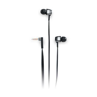 Auricular Muse M-112 CF Com fios Preto, Prateado
