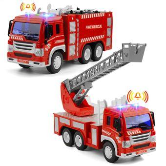 Camião de Bombeiros Deal We | Brinquedo Crianças 2, 3, 4, 5 Anos | Bombas de Incêndio | Escala: 1:16 | 2 Peças