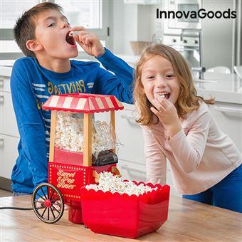 Máquina de Pipocas Sweet & Pop Times InnovaGoods 1200W Vermelha