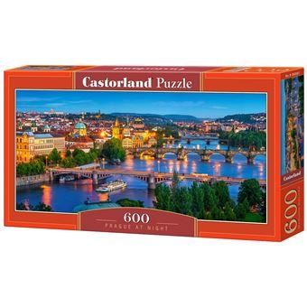 Puzzle Castorland Prague at Night 600 pcs 600peça(s)