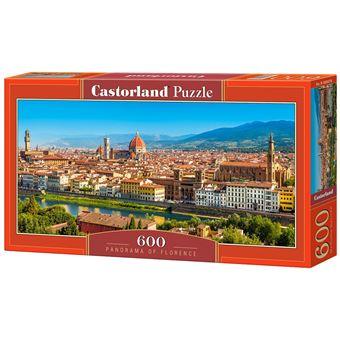 Puzzle Castorland Panorama of Florence 600 pcs 600peça(s)
