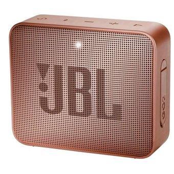 Coluna Portátil JBL GO 2 Castanho, Vermelho