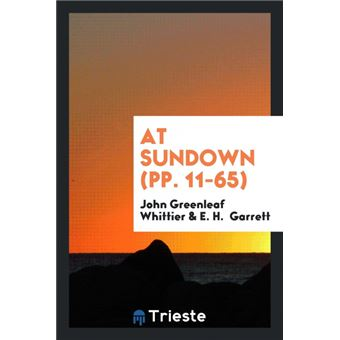 At Sundown pp