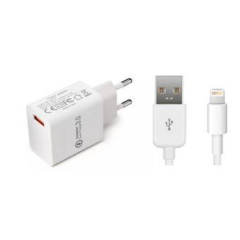 Carregador de dispositivos móveis coreparts mbxap-ac0008 interior branco