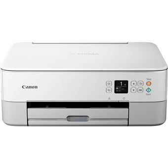 Impressora Multifunções Jacto de Tinta Canon PIXMA TS5351 - Weiss Wi-Fi Branco
