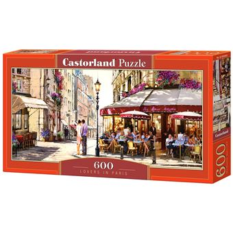 Puzzle Castorland Lovers in Paris 600 pcs 600peça(s)