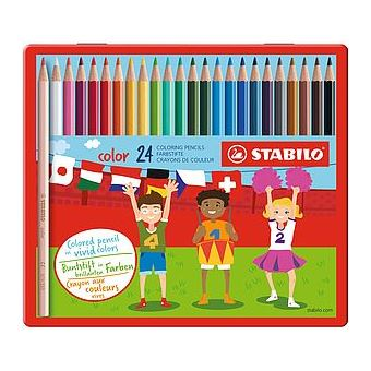 STABILO color lápis de cor 24 peça(s) Multi cor