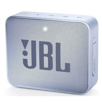 Coluna Portátil JBL GO 2 Ciano