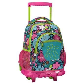 Trolley Escolar Totto Renglon 1OX Mochilas Trolley