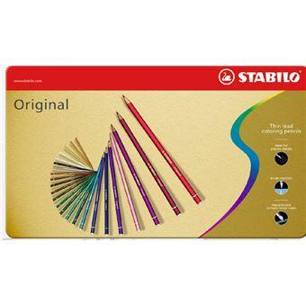 STABILO Original lápis de cor Azul e Vermelho