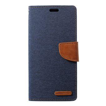 Capa Magunivers PU diário em tela azul escuro para Samsung Galaxy S10