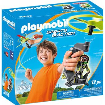 Playmobil Sports & Action 70055  Top Agents Pull String Flyer
