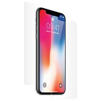 Películas 4Smarts para iPhone X / XS | Proteção de Ecrã Híbrida | Flexível Durabilidade 9H