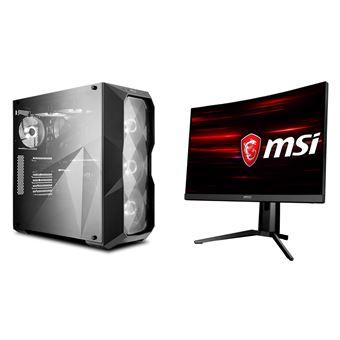 "Desktop-Gaming ART-PC | AMD AM4 Ryzen 7 3700X 8×4.4GHz | M2 SSD 500GB | 32GB 2666 | NVIDIA RTX 2060 6GB GDDR6 + Monitor LED | 27"""" | MSI OPTIX MAG271CV | Curvo"