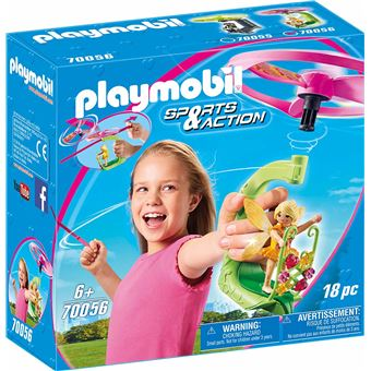 Playmobil Sports & Action 70056  Fairy Pull String Flyer