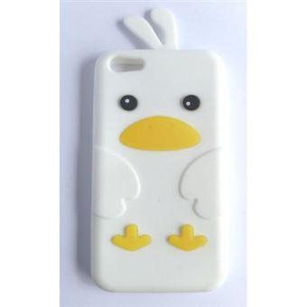 Capa Lmobile em Gel Pássaro para iPhone 5C Branco
