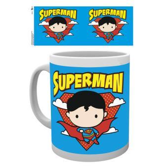Caneca de Cerâmica GB Eye DC Comics Justice League Superman Chibi