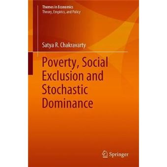 Poverty, Social Exclusion And Stochastic Dominance