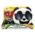 Peluche Panda Caras Divertidas