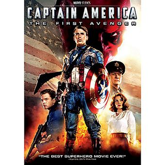 Disney Captain America DVD 2D