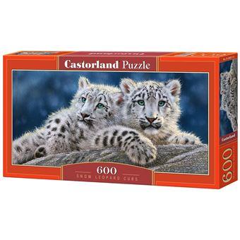 Puzzle Castorland Snow Leopard Cubs 600 pcs
