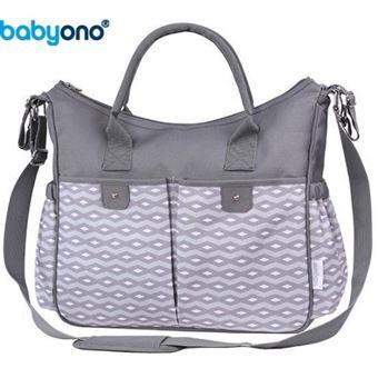 Saco de Fraldas Baby Ono | Cinza