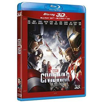 Capitán América: Civil War / Capitain America: Civil War (2Blu-ray)