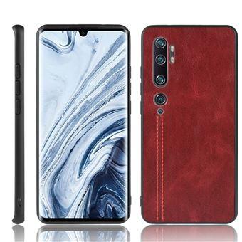 Capa Magunivers | TPU + PU híbrido Vermelho para Xiaomi Mi CC9 Pro/Note 10/Note 10 Pro