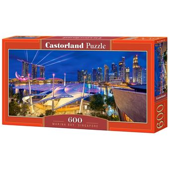 Puzzle Castorland Marina Bay, Singapore 600 pcs 600peça(s)