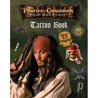 "Disney ""Pirates of the Caribbean"" Tattoo Book (Disney Tattoo Book)"
