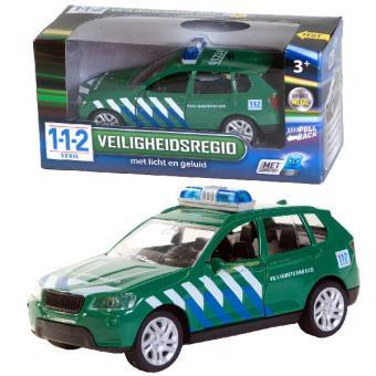 Carro Polícia Van der Meulen 0301009 Plástico Verde