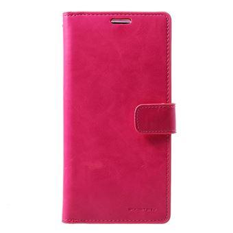 Capa Magunivers PU diário mansoor rosa para Samsung Galaxy S10