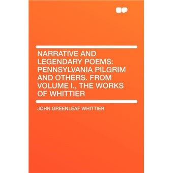 Narrative And Legendary Poems