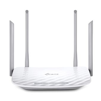 TP-LINK AC1200 router sem fios Dual-band (2,4 GHz / 5 GHz) Gigabit Ethernet Branco