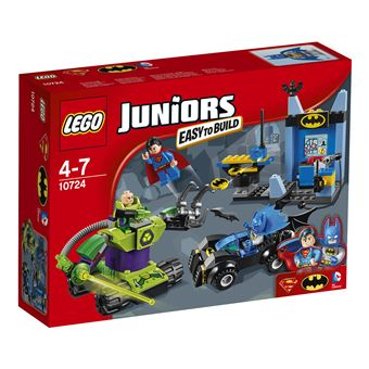 LEGO Juniors DC Comics Batman & Superman vs. Lex Luthor 164 peças