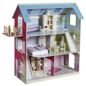 roba 9462 MDF, Madeira casa de bonecas Multi cor